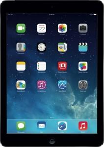 Für größere Ansicht Maus über das Bild ziehen iPad Air Spacegrau 16 GB